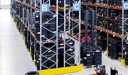 Horizontal Tyre Storage
